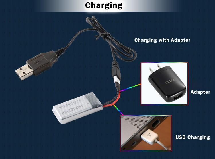 X6 Charging