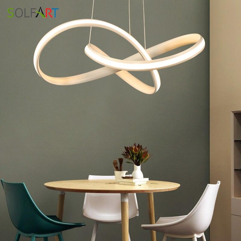 LED Lampade a Sospensione Apparecchio Pendenti con gemme e perle Per La Cucina Cavo Pendente Bar Per La Casa di Illuminazione luci del pendente