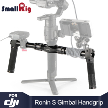 SmallRig DSLR Camera Handle Dual Handgrip for DJI Ronin S / for Ronin SC Gimbal Hand Held Shooting DSLR Camera Stabilizer 2250 цена