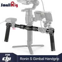 SmallRig DSLR Camera Handle Dual Handgrip for DJI Ronin S / for Ronin SC Gimbal Hand Held Shooting DSLR Camera Stabilizer 2250