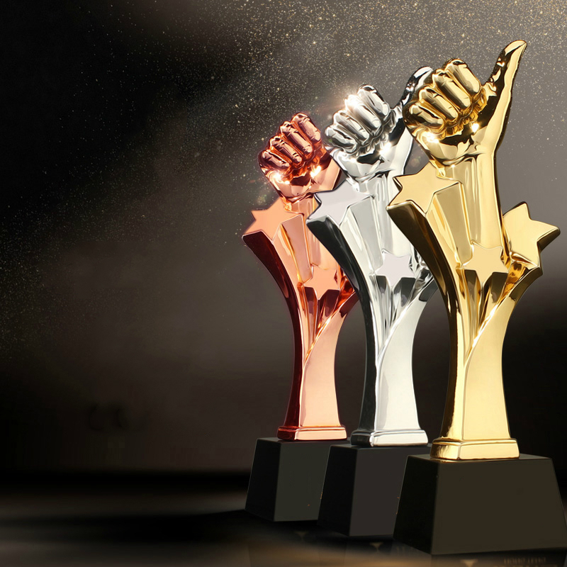 Thumb Design Trophy Cup Originality Black Crystal Base Multiple Colors Crystal Trophy Customized Excellent Award Trophies PrizeThumb Design Trophy Cup Originality Black Crystal Base Multiple Colors Crystal Trophy Customized Excellent Award Trophies Prize