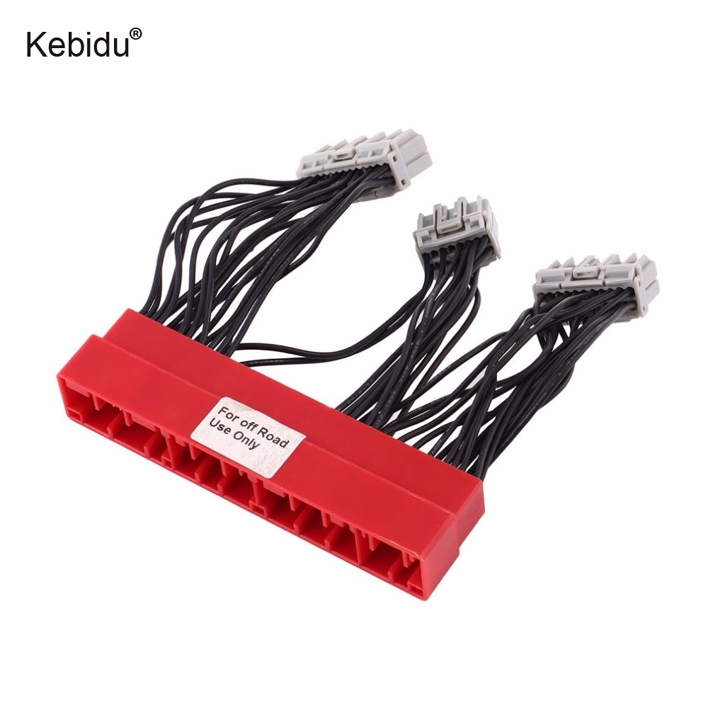 Kebidu Car Vehicle OBD2A to OBD1 Harness Replace ECU Jumper Conversion Wiring  Wire Harness For Honda For Civic High Quality-in Cables, Adapters & Sockets  ...