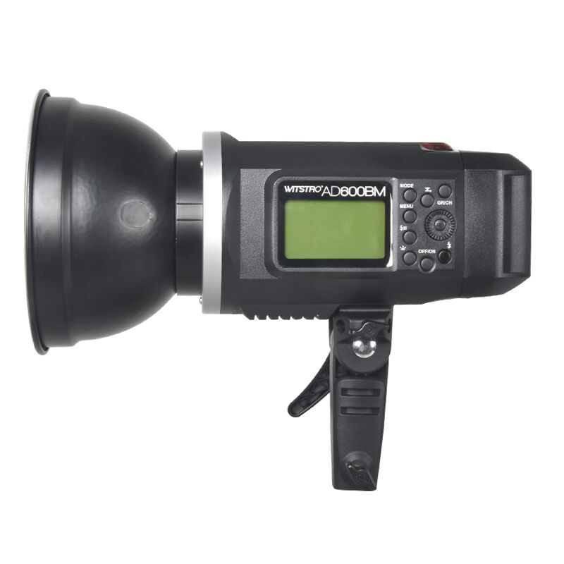 <font><b>Godox</b></font> <font><b>AD600BM</b></font> HSS Bowens Mount 600Ws GN87 High Speed Sync Outdoor Flash Strobe Light with Built-in 2.4G Wireless X System image