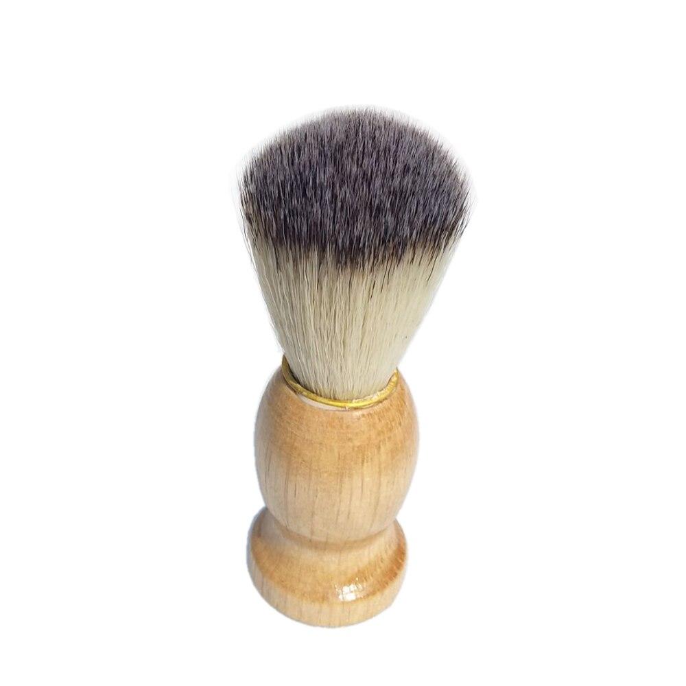 2pc / set Black Badger Shaving Cream Brush med keramisk skäggskål - Rakning och hårborttagning - Foto 3