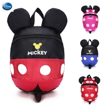 Disney Baby backpack 1-3 years old child bag Cute cartoon mickey Minnie boys and