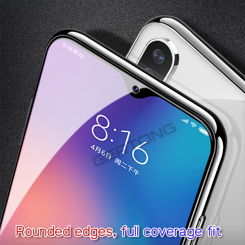 9D Tempered Glass For Xiaomi Redmi Note 7 Pro Note 6 5 Pro Screen Protector For Redmi 6 K20 Pro 6A 5 Plus Protective Glass Film 8