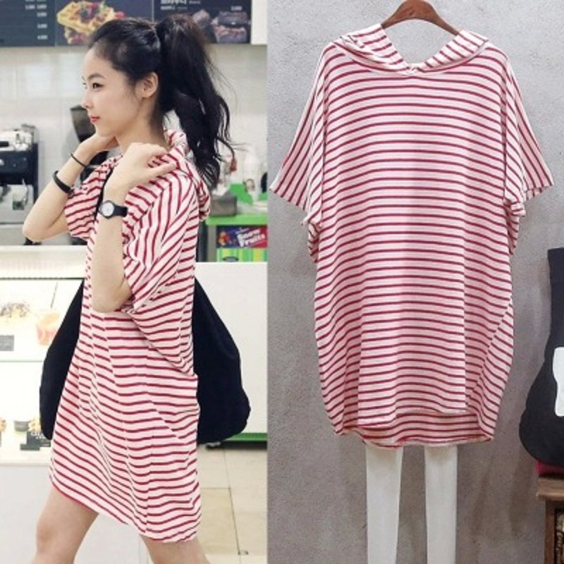 2016-new-summer-maternity-T-shirts-plus-size-stripe-knitted-women-s-T-shirts-pregnant-t