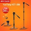 """Yunteng vct-288 cámara monopod + fluid pan head + unipod soporte para canon nikon y todas las réflex digitales con 1/4 """"montaje Envío Libre"""