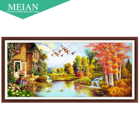 United States Coast New 5D Cube Painted Landscape Diamond Drill Room Diamond Cross Stitch Embroidered