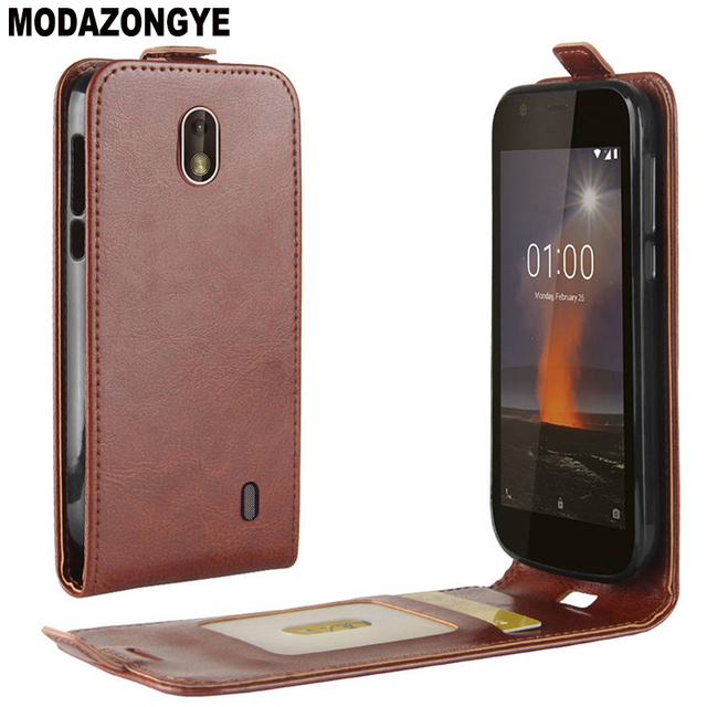newest 47f76 5f423 US $3.78 10% OFF|For Nokia 1 Case Nokia 1 2018 Case PU Leather Back Cover  Phone Case For Nokia 1 TA 1047 TA 1060 TA 1056 TA 1079 Nokia1 Case Flip-in  ...