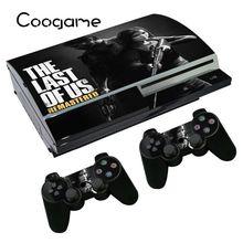 Dernière de NOUS Autocollant Pour Sony PS3 Fat Console peau Pour Playstation3 Couleur Votre Console