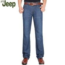 2016, лето, новый JEEP AFS/Battlefield Jeep мужская мода повседневная высококлассные классические случайные джинсы прямые джинсы большой ярдов 95