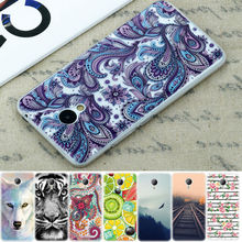 GerTong Painted Phone Case for MEIZU M3 Note M3S Mini M2 Note M2 Mini Pro 6 U10 U20 M3 Mini Soft Silicon Back Cover Fundas Bag