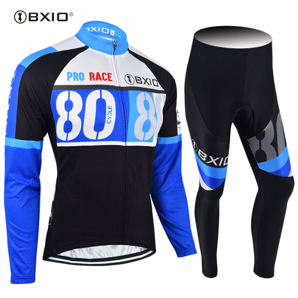 2017 New Arrival Bxio Brand    Cycling Jersey Long Sleeve  Bicycle Clothing Bike Pro Team Jerseys Autumn Ropa Ciclismo 037 цена