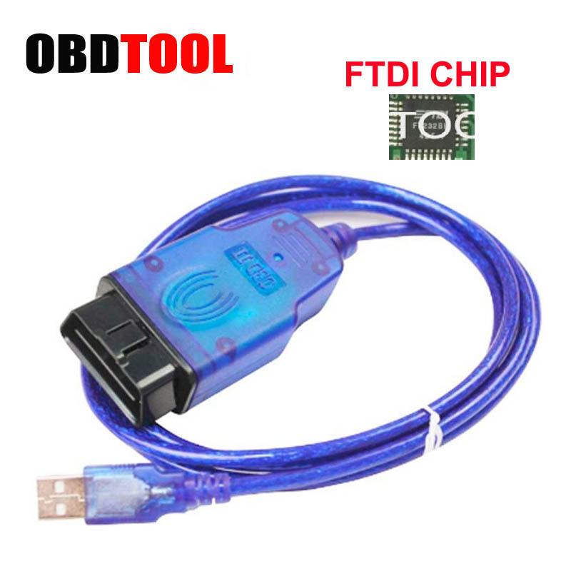 Hot Connectors For Opel Tech2 USB Diagnostic Cables With FTDI FT232 Chip Tech 2 USB Interface Auto OBD2 OBD Scanner Tool
