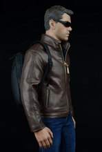 1/6 Scale Agent Leather Jacket Shirt Jeans Accessories For 12'' inches Figures