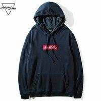 Aelfric Eden Mens Hooded Sweatshirt Men Letter Embroidery Hip Hop Hoodie Pullover Skateboard Sportswear Brand Tracksuit