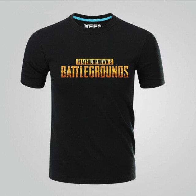 Футболка с принтами игры Playerunknown's Battlegrounds в ассортименте 1