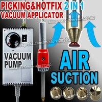 Air suction Vacuum pick up&Hotfix Applicator wand Gun super for iron on Hot fix Rhinestones crystals DIY tools