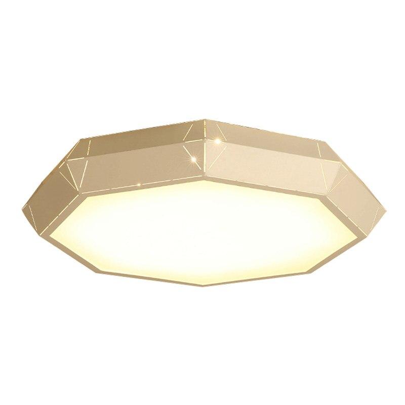 Moderne Simple LED plafonniers rond blanc foyer plafonnier lampe enfants chambre créative LED montage en saillie luminaire