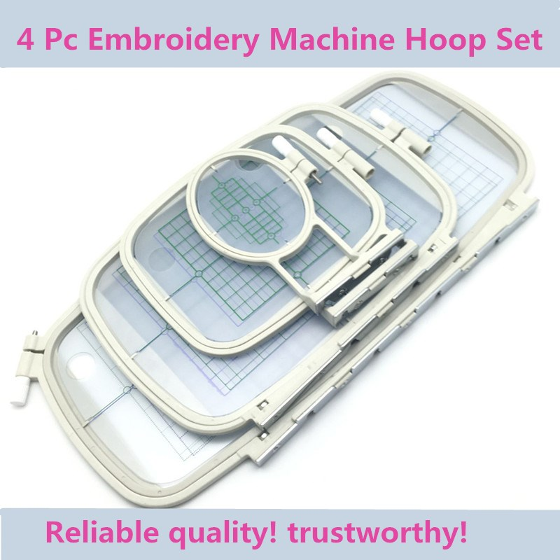 Hot Sell Sewing Embroidery Hoops Embroidery Machine Accessories Frames Set For Brother PE-700, PE-700II, PE-750D, PC-6500,