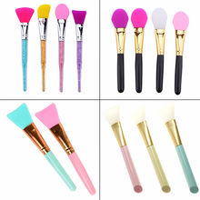 ELECOOL 1PC Facial Mask Stirring Brush Soft Silicone Makeup Brush Women Skin Face Care For Girl Cosmetic Tools Maquiagem(China)