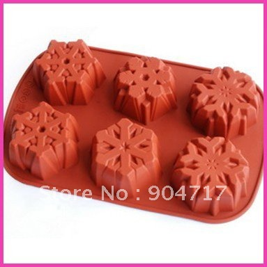 for christmassilicone mold christmas snowflake cake mould 28x18x35cm silicone cupcake mold