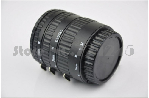 Plastic Mount Auto Focus AF Macro Extension Tube Ring For Canon Lens EF G10 G11 G12