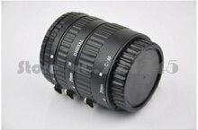 Пластик крепление автоматической фокусировки AF Макрос Удлинитель кольцо для объектива Canon EF G10 G11 G12 1100D 700D 650D 550D 400D 7D 6D 5D серии