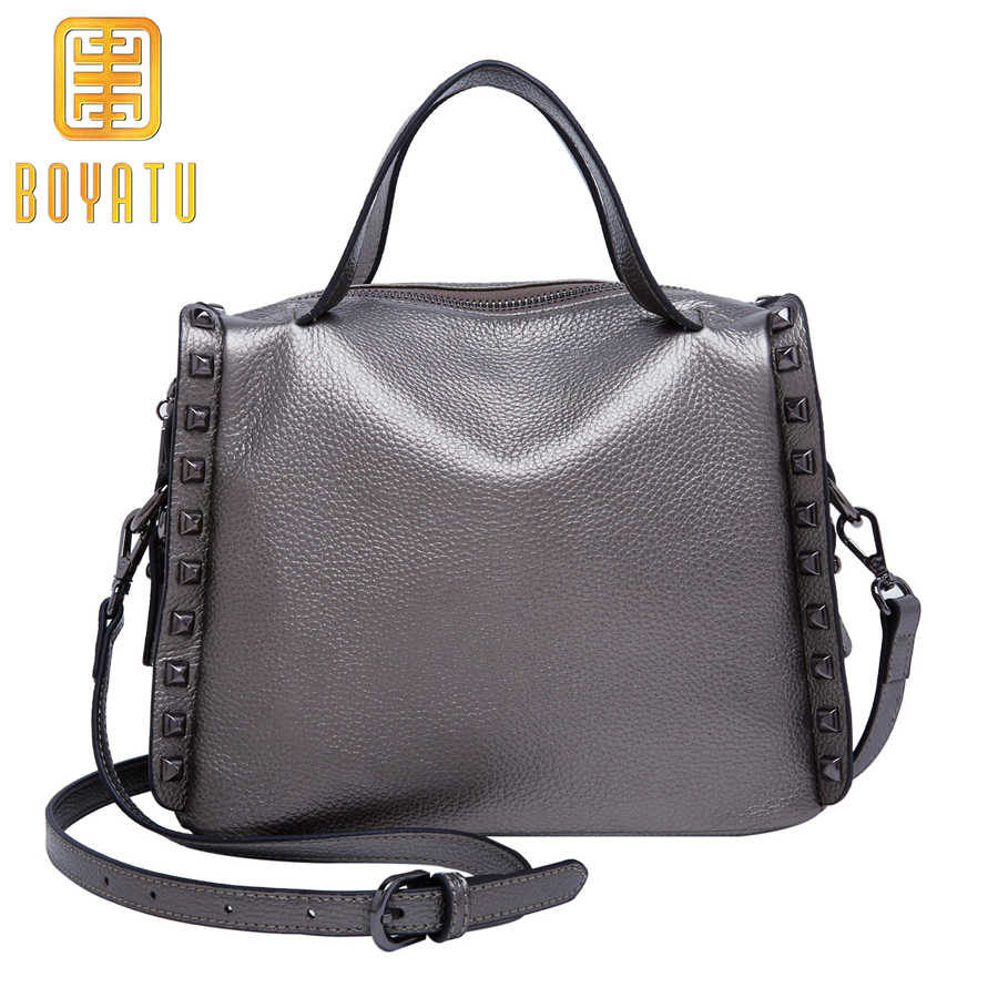 6c0046052f Detail Feedback Questions about Genuine Leather Shoulder Bag for ...