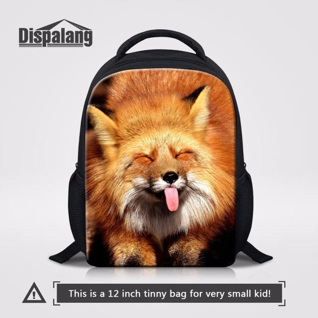 1efc04b671a3 Dispalang Cute Fox Small Backpack 12 inch Children School Bags Preschool  Students Bagpack Kids Bookbags Kindergarten Rucksack