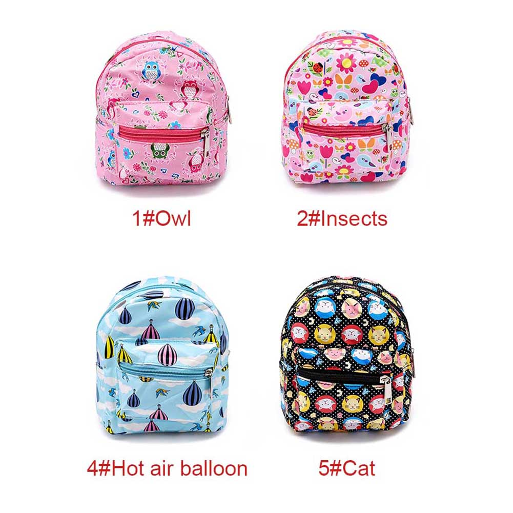 New Cute Portable Mini Backpack Shape Printed Makeup Bag Travel Organizer Pouch 5 In 1 Bags Waterproof Toiletry Bs88 School From Luggage On