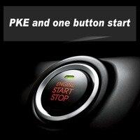 Универсальный автомобильный старт otomobil Keyless Дистанционное включение выключение Push двигатель Центральный замок автомобиля сигнализация дв
