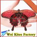 Envío de la alta calidad hecha a mano tradicional línea cometa mini mariposa cometa 5 unids/lote con mango fácil de vuelo al aire libre juguetes wei