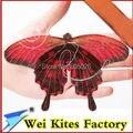 O envio gratuito de alta qualidade artesanal tradicional kite mini borboleta pipa 5 pçs/lote com linha punho fácil voando brinquedos ao ar livre wei