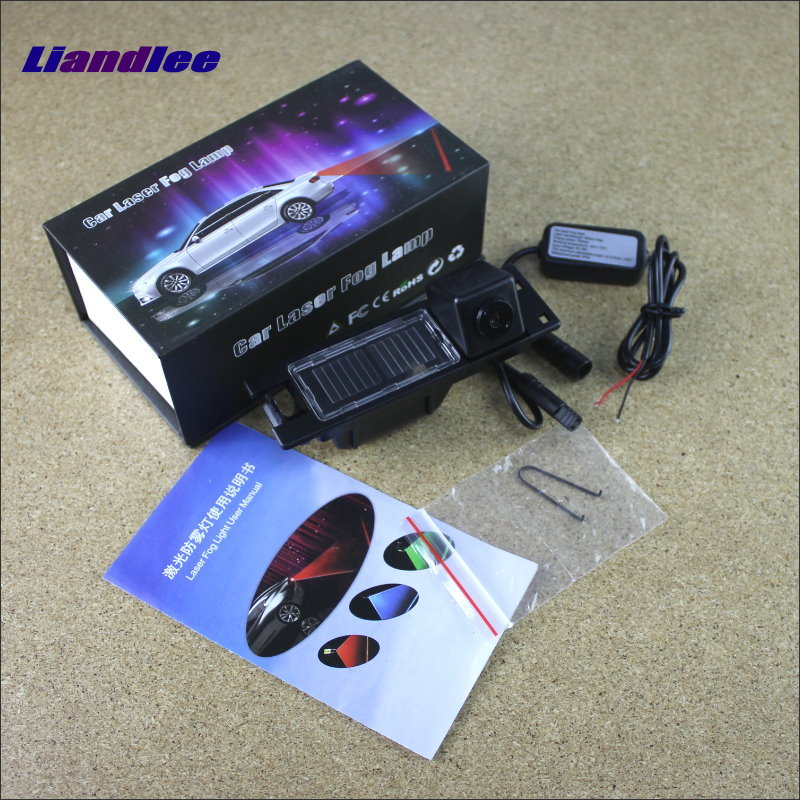Liandlee For Vauxhall / Opel Insignia 2009~2014 Car Laser Light Prevent Rear-end Warning Laser Light Haze Rain Fog Snow Lights for buick encore opel mokka 2012 2014 car rain lamp super bright special laser beam rear end collision warning light page href