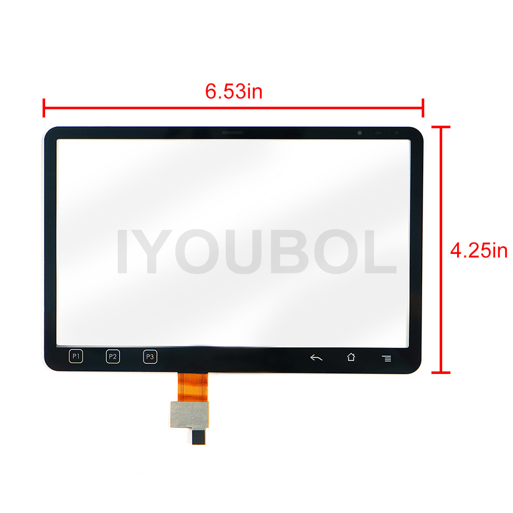 10 pack New Touch Screen Digitizer for Motorola Symbol zebra ET1 Touch Panel Digitizer glass lens pane LCD Modules new touch screen digitizer for zebra mc3300 touch panel digitizer glass lens pane lcd modules
