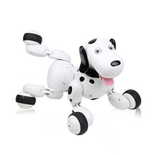 777-338 RC walking dog 2.4G Wireless Remote Control Smart Dog Electronic Pet Educational Childrens Toy Robot for AI Gift