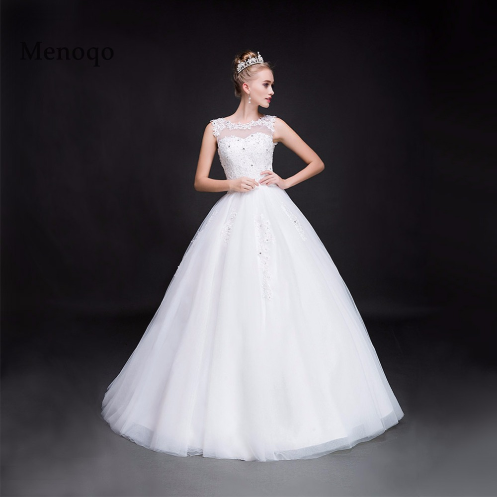 Ball gown Wedding dresses Real photos 2019 New style Luxurious Tulle Wedding gown Custom made Lace up back