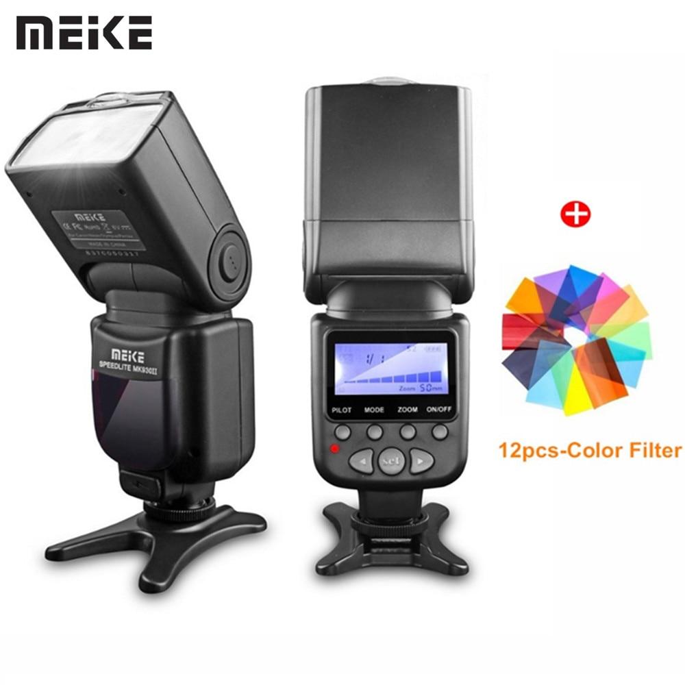 Meike Brand MK 930 II Flash Light Speedlite For Nikon Canon Like D5300 Dslr Camera Speedlight