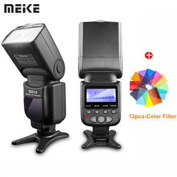 Meike Brand MK-930 II Flash Light Speedlite For Nikon Canon Like D5300 Dslr Camera Speedlight As Yongnuo YN-560 II Flashlight meike mk mt24 macro twin lite speedlight flash for nikon d3100 d3200 d3300 d3400 d5000 d5300 d5500 d7000 d7100 dslr cameras gift