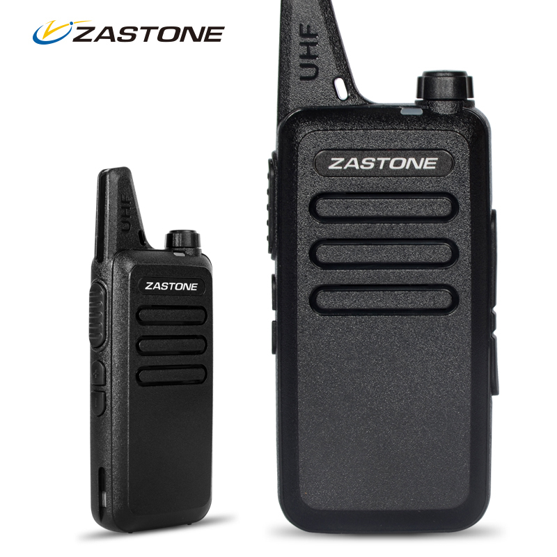 Zastone ZT X6 Mini Walkie Talkie with Headset 400 470Mhz Frequency UHF Handheld Radios Comunicador Two