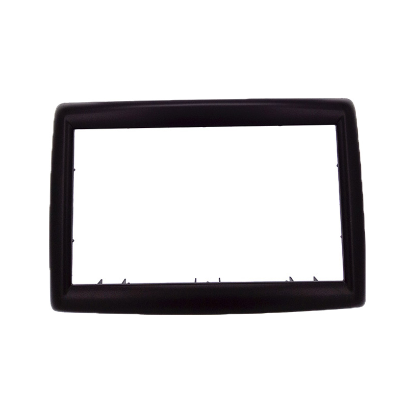 High quality 2DIN Car Radio Fascia for RENAULT Megane II 2003-2009 stereo facia frame panel dash mount kit adapter Bezel frame car window regulator repair kit for renault megane ii 2 front right 2002 2009 new