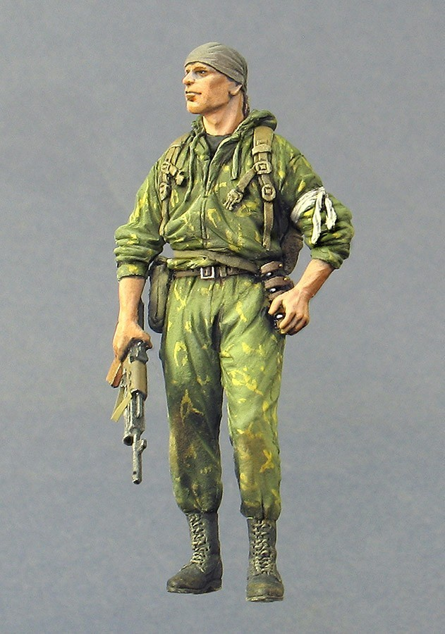 Assembly Unpainted  Scale 1/35 Officer  Russia 2006  Modern Soldier Historical Toy Resin Model Miniature Kit