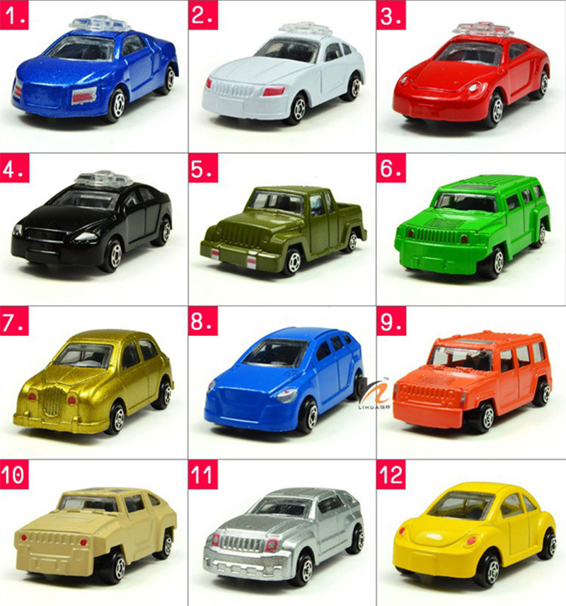 12 items/set  Diecast low-cost dinky toys tomy tomica Matchbox hero metropolis vintage miniature small steel toy collectible mannequin automobiles