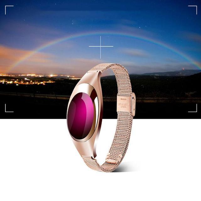 2017 Fashion Style Z18 Smart Band Waterproof Men Women Smart Watch Bracket Sports SmartBand Pedometer Heart Rate Watches
