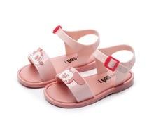 Melissa Shoes 2019 New Mickey Minnie Girl Sandals Jelly Children Beach Cartoon