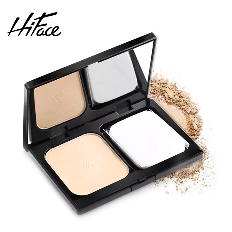 HIFACE 3 Colors Pressed Powder Face Makeup Oil Control Waterproof Concealer Long Lasting Finish Make Up Foundation Powder
