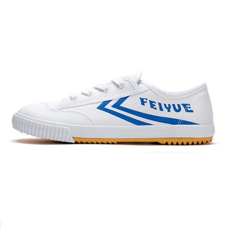 EU34-44 DF566 Canvas FeiYue Sneakers Martial Arts TaiChi KungFu ShaoLin Training Track And Field Shoes For Students Man Woman