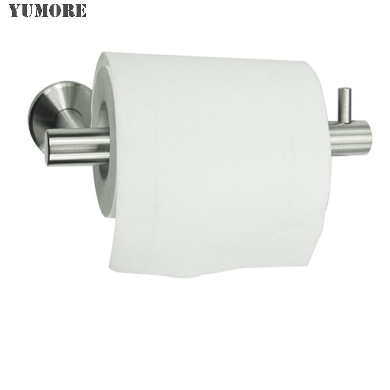Bathroom toilet paper holder wall mount stainless steel bathroom accessories - Bathroom accessories toilet paper holders ...